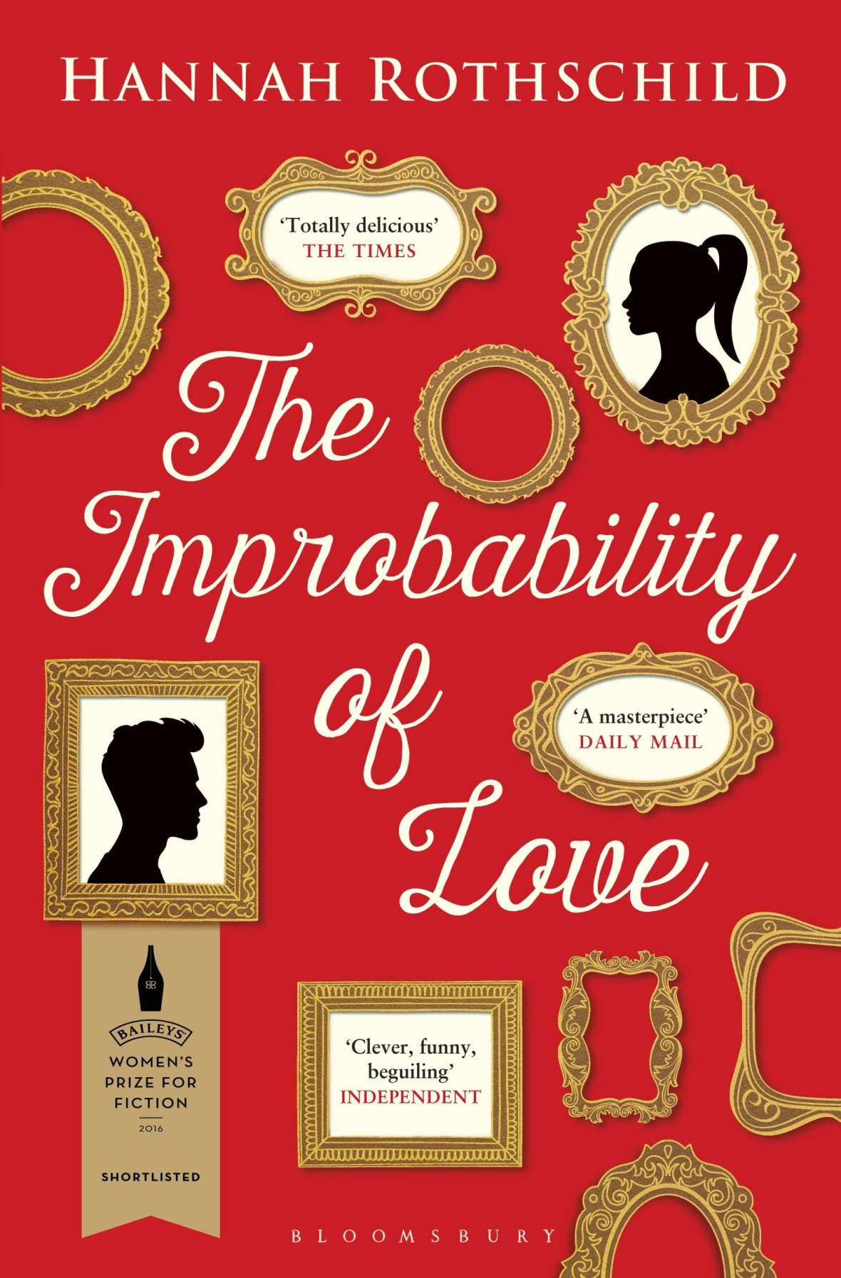 improbability of love paperback